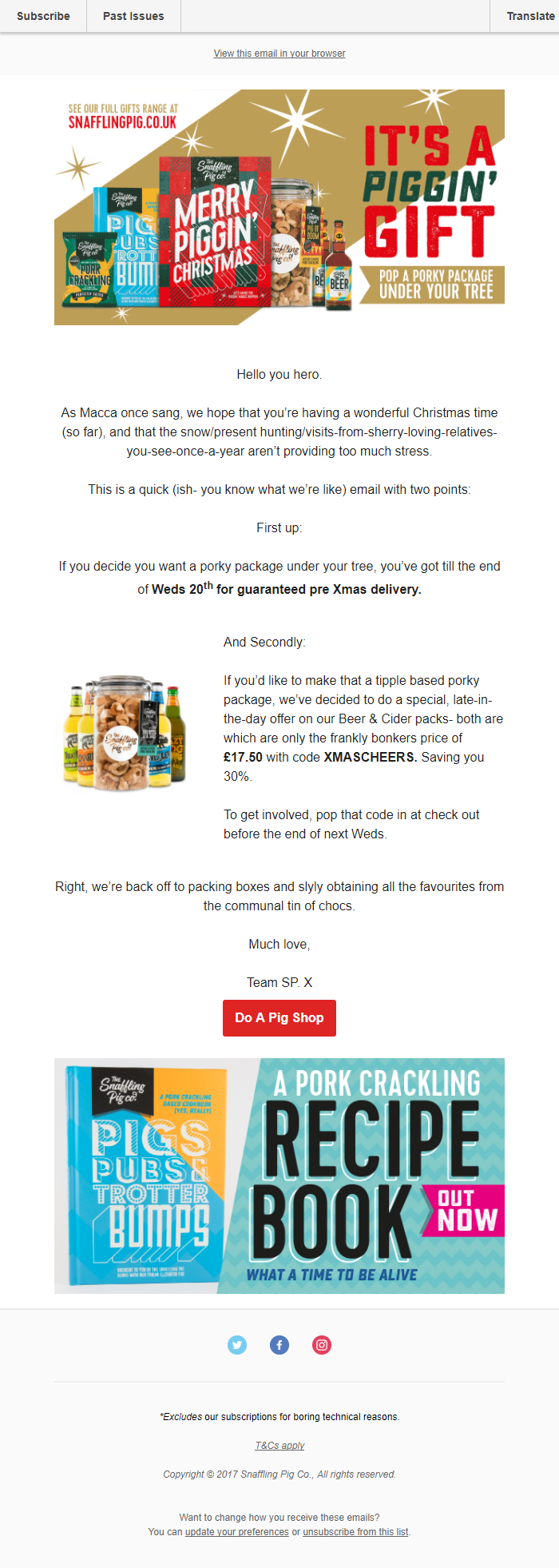 Taco Bell – Give the gift of Gift Card – emails that smash it